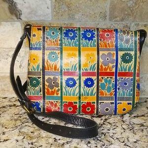 💐 Patricia Nash Floral Square Handbag